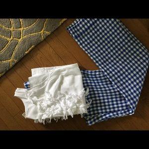J. Crew Pants - J Crew Collection Gingham Linen Pants